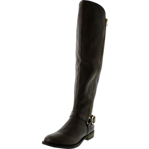 Steve Madden Women's Skippur Knee-High Leather Boot