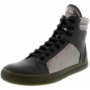 Kenneth Cole Men's Double Header Ankle-High Leather Fashion Sneaker