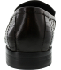 Kenneth Cole Men's High Chair Ankle-High Leather Loafer - Back Image Swatch