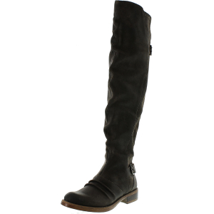Kensie Women's Stella Knee-High Leather Boot