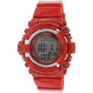 Dakota Men's 3543-2 Red Plastic Quartz Watch