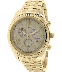 Citizen Women's Eco-Drive FB1362-59P Gold Stainless-Steel Eco-Drive Watch