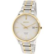 Seiko Men's SGEG96 Metallic Silver Stainless-Steel Quartz Watch