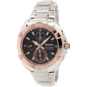 Seiko Men's SNDZ20P2 Silver Stainless-Steel Quartz Watch