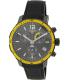 Tissot Men's Quickster T095.449.37.057.00 Black Silicone Swiss Quartz Watch - Main Image Swatch