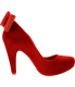 Melissa Women's Incense Laco Ankle-High Synthetic Pump - Side Image Swatch