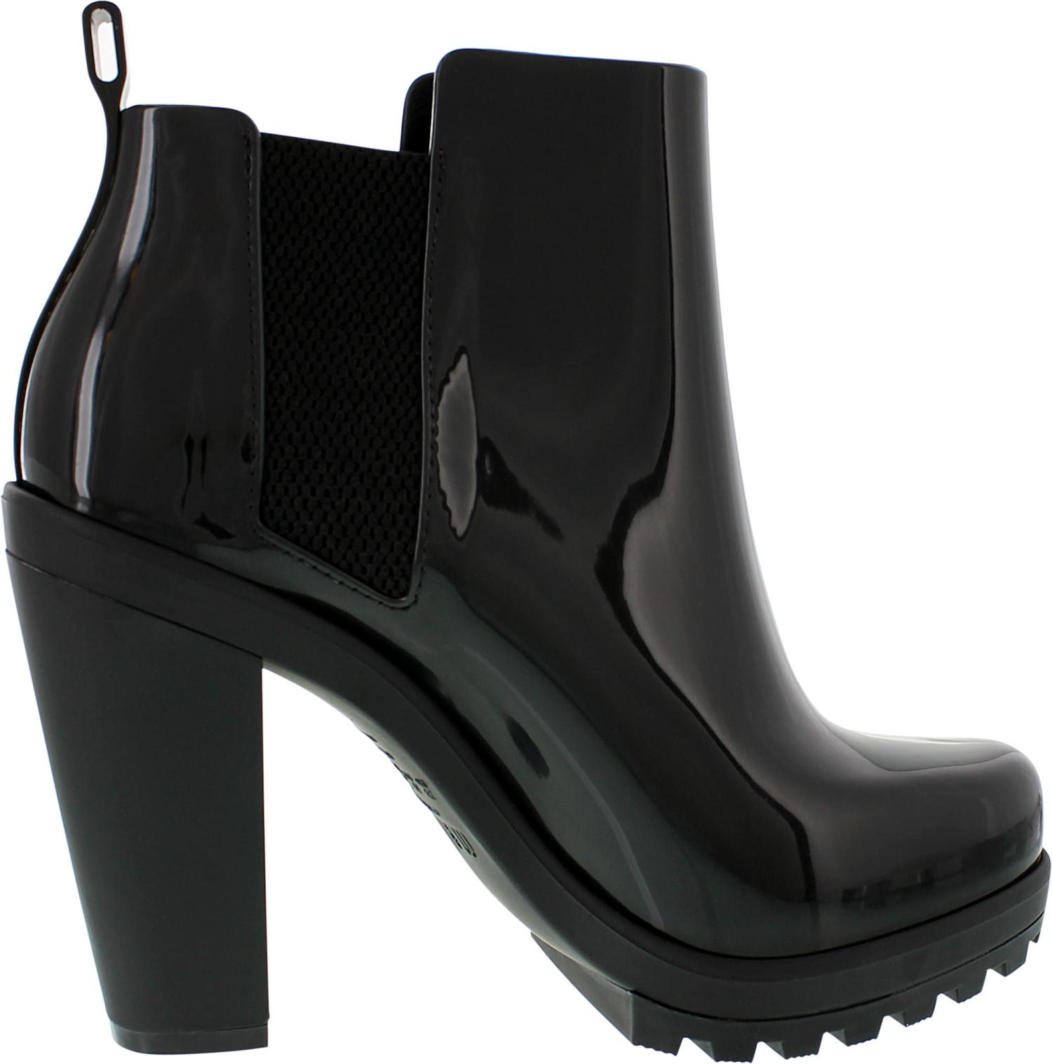 Melissa-Women-039-s-Soldier-Ankle-High-Rubber-Rain-Boot thumbnail 5