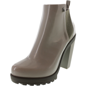 Melissa Women's Soldier Ankle-High Rubber Rain Boot