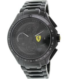Ferrari Men's Race Day 0830087 Black Stainless-Steel Analog Quartz Watch