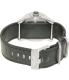 Nixon Men's Private A0491892 Black Leather Quartz Watch - Back Image Swatch
