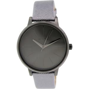 Nixon Women's Kensington A1081924 Grey Leather Quartz Watch