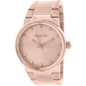 Nixon Men's Cannon A160897 Rose Gold Stainless-Steel Quartz Watch