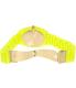 Nixon Men's Time Teller A3271896 Yellow Plastic Quartz Watch - Back Image Swatch