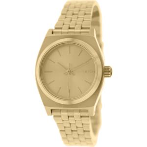Nixon Women's Time Teller A399502 Gold Stainless-Steel Quartz Watch