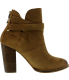 Chinese Laundry Women's Zip It Ankle-High Suede Boot - Side Image Swatch