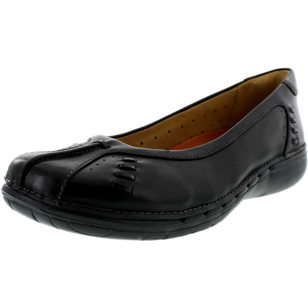Related Post New Single Shoes Women Black Leather Comfort Casual Flat Shoes