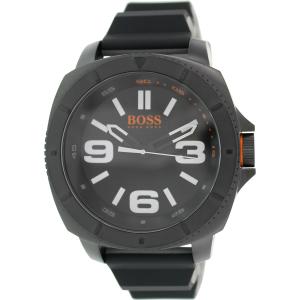 Hugo Boss Men's Sao Paulo 1513106 Black Silicone Analog Quartz Watch