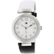 Tommy Hilfiger Women's 1781493 Black Leather Analog Quartz Watch