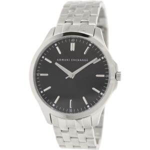 Armani Exchange Men's AX2147 Silver Stainless-Steel Quartz Watch