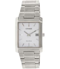 Citizen Men's Eco-Drive BM6780-58A Silver Stainless-Steel Quartz Watch