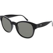 Diesel Men's  DL0045-01N-54 Black Round Sunglasses