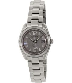 Citizen Women's Eco-Drive EW2101-59A Silver Titanium Eco-Drive Watch