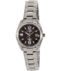 Citizen Women's Eco-Drive EW2101-59E Silver Titanium Eco-Drive Watch