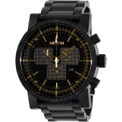 Nixon Men's Magnacon A1541041 Black Stainless-Steel Swiss Quartz Watch
