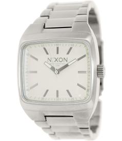 Nixon Men's Manual A244100 Silver Stainless-Steel Quartz Watch