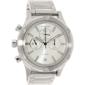 Nixon Men's Camden A354130 Silver Stainless-Steel Quartz Watch