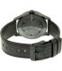 Nixon Men's Sentry A3771886 Black Leather Quartz Watch - Back Image Swatch