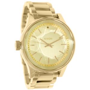 Nixon Men's Facet A384502 Gold Stainless-Steel Quartz Watch