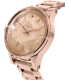 Nixon Women's Facet A384897 Rose Gold Stainless-Steel Quartz Watch - Side Image Swatch