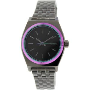 Nixon Women's Time Teller A3991698 Gunmetal Stainless-Steel Quartz Watch