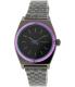 Nixon Women's Time Teller A3991698 Gunmetal Stainless-Steel Quartz Watch - Main Image Swatch