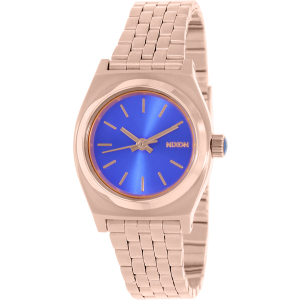 Nixon Women's Time Teller A3991748 Rose-Gold Stainless-Steel Quartz Watch