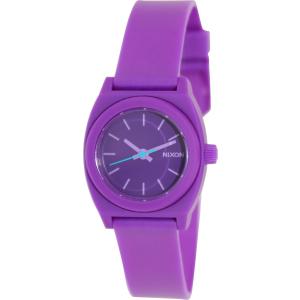 Nixon Women's Time Teller A425230 Purple Resin Quartz Watch