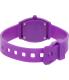 Nixon Women's Time Teller A425230 Purple Resin Quartz Watch - Back Image Swatch