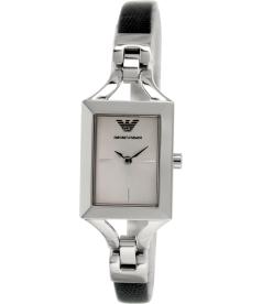 Emporio Armani Women's Classic AR7372 Black Leather Quartz Watch