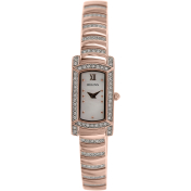 Bulova Women's Crystal 98L205 Rose Gold Stainless-Steel Quartz Watch
