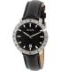 Bulova Men's Accutron II 96B205 Black Leather Quartz Watch - Main Image Swatch