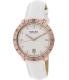 Bulova Men's Accutron II 97B128 White Leather Quartz Watch - Main Image Swatch