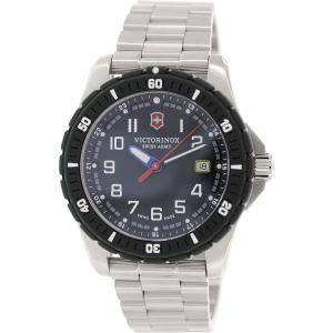 Victorinox Swiss Army Men's Maverick 241675 Silver Stainless-Steel Swiss Quartz Watch