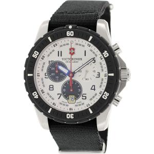Victorinox Swiss Army Men's Maverick 241680.1 Antique Black Cloth Swiss Quartz Watch