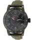 Burberry Men's Utilitarian BU7855 Green Leather Swiss Quartz Watch - Main Image Swatch