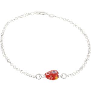 Exotic Identity Women's Trinity Charm Bracelet