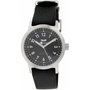 Vestal Men's Alpha Bravo Zulu ABZ3C01 Black Cloth Quartz Watch