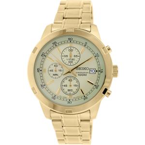 Seiko Men's SKS426 Gold Stainless-Steel Quartz Watch