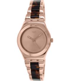 Swatch Women's Irony YLG128G Rose Gold Stainless-Steel Swiss Quartz Watch