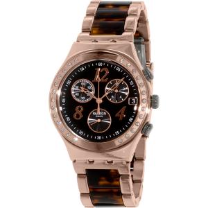 Swatch Women's Irony YCG404GC Rose Gold Stainless-Steel Swiss Quartz Watch